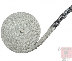 Anchor Rode 8-Strand Chain Anchor Rope