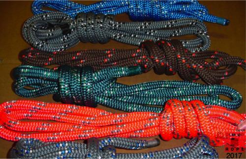 custom colored nylon dock lines