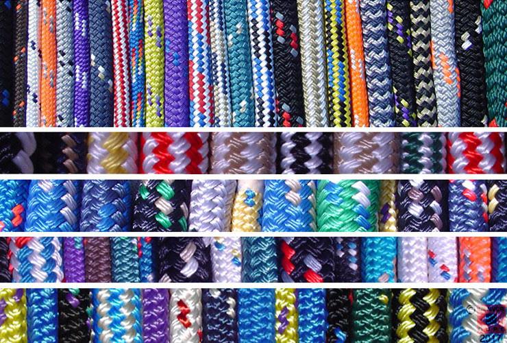 Custom colored rope