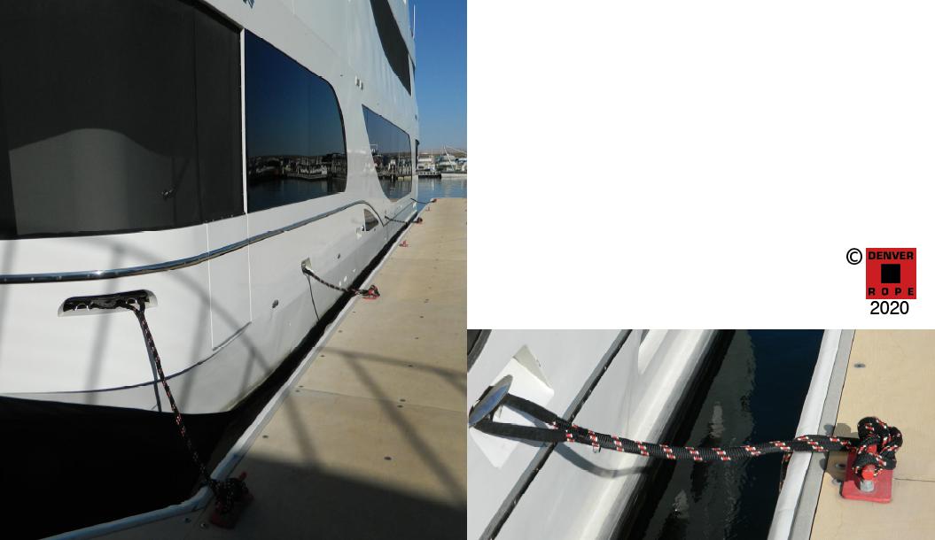 Custom Colored Double Braid Dock Lines
