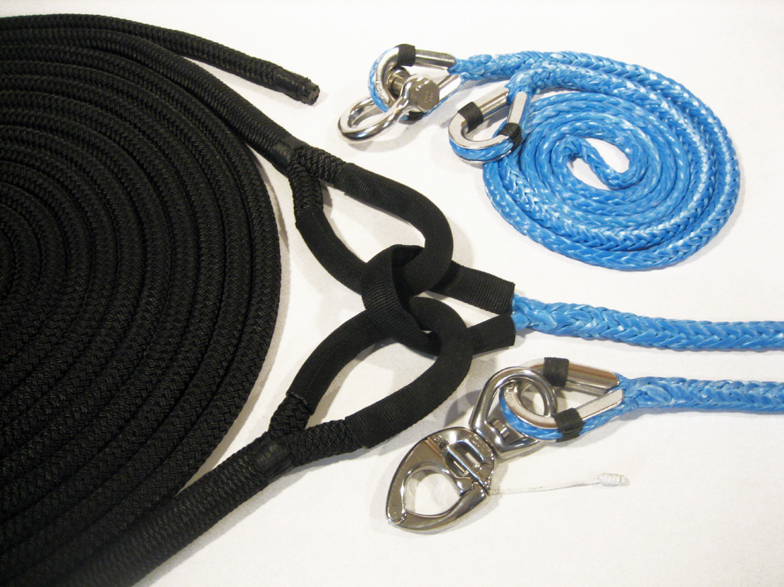 Tow Lines & Recovery Ropes y-shape tow bridle